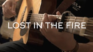 The Weeknd Lost In The Fire Ft. Gesaffelstein Fingerstyle Guitar Cover.mp3