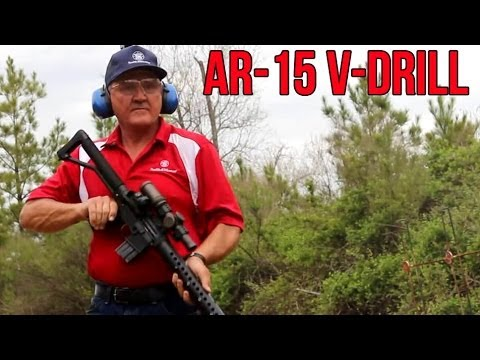 "AR15 ""V-Drill""  with fastest shooter EVER, Jerry Miculek! (Shoot Fast! excerpt)"
