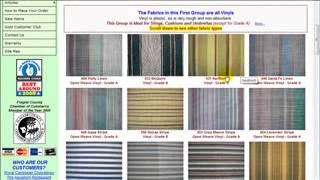 Outdoor Fabric Grades