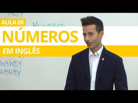 N�MEROS EM INGL�S (numbers in english) - AULA 08 PARA INICIANTES - PROFESSOR KENNY