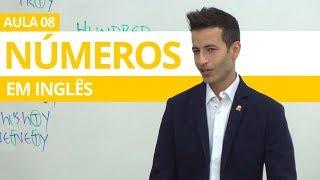 NÚMEROS EM INGLÊS (numbers in english) - AULA 08 PARA INICIANTES - PROFESSOR KENNY