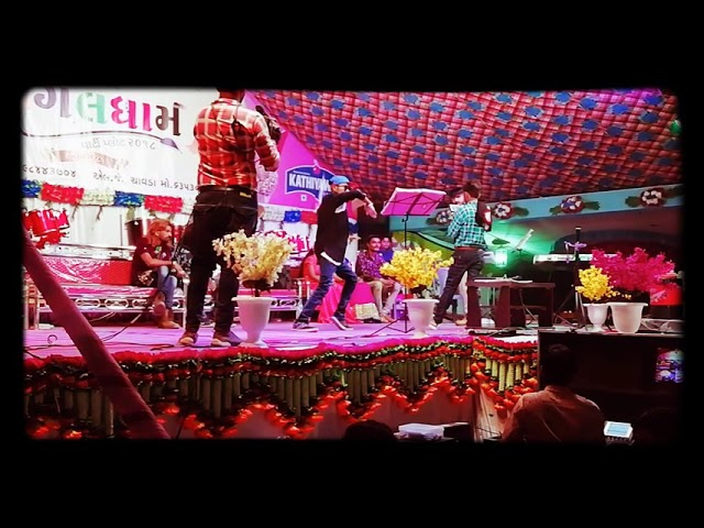 mogal dham party plot botad best of luck dance Academy vishal chauhan M.J ROBOT performance
