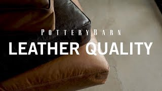 Pottery Barn Leather Quality
