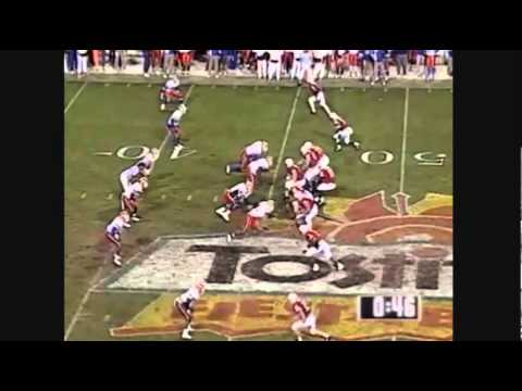 1996 Fiesta Bowl   U of Nebraska vs U of Florida football highli
