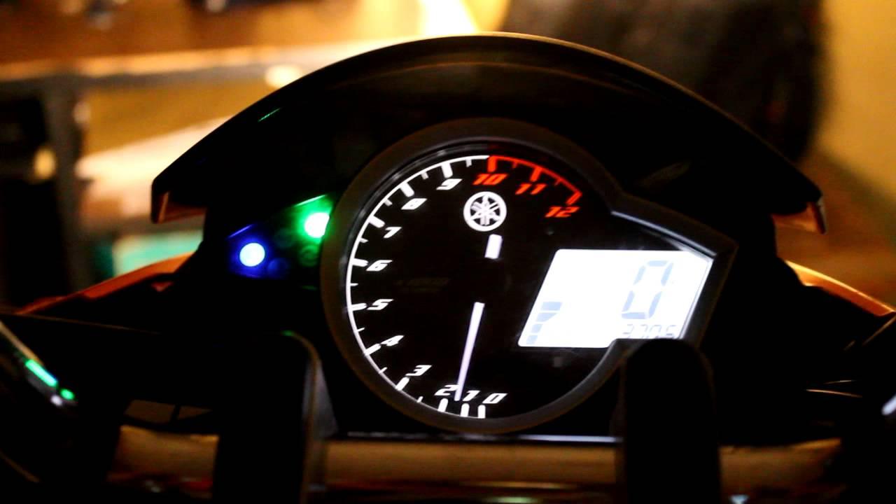 Yamaha New Vixion Speedometer Nite Display Copyright By Iwanbanaran
