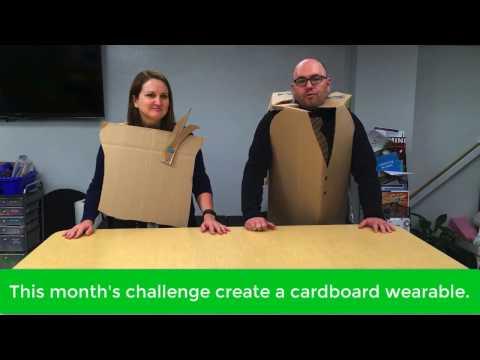 Think, Make, Innovate: Wearable Cardboard