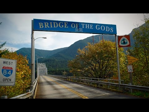 Me at Bridge of the Gods in Cascade Locks, OR (Wild Film Location)