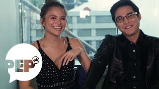 Elisse Joson and McCoy de Leon try to copy each other | PEP Challenge
