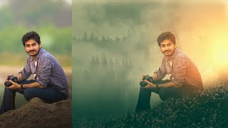 Photoshop Tutorial | Photo Manipulation & Effects ( Parv Kalia 2 )