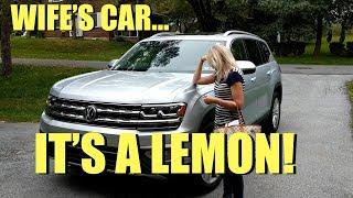 Lemon Law!  Vw Buys Kristen's 2018 Vw Atlas Back!