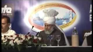 Ahmadiyya: Huzoor at a Reception at Ernakulam Kerala, India 2008 (1/5)