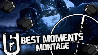 BEST MOMENTS [FULL TEAM & 3vs5] - MONTAGE RAINBOW SIX SIEGE