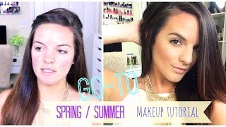 My Go-To Summer Makeup Look | For Hot/Humid Weather