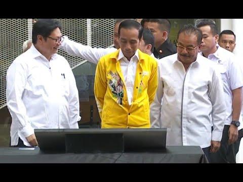 Jokowi: Mesranya Sudah Lama dengan Airlangga