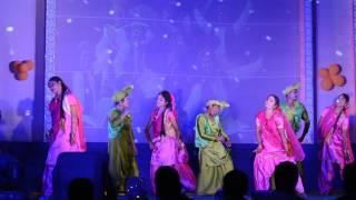 TECHNO PRISM 2017... BHANGRA DANCE