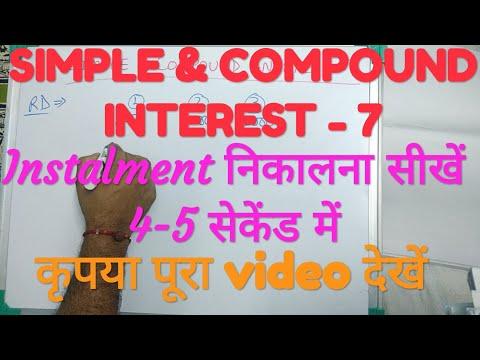SIMPLE & COMPOUND INTEREST