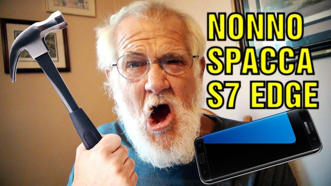 Nonno spacca samsung s7 edge parte 1 youtube - Nonno spacca letto ...