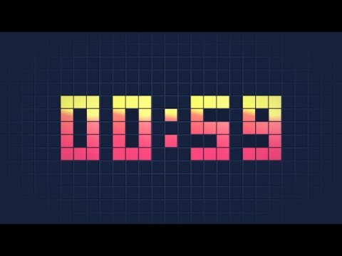 digital clock countdown after effects template youtube