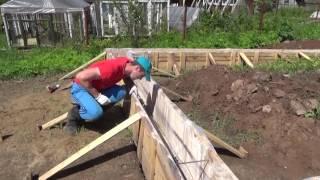 видео Как правильно класть арматуру для фундамента