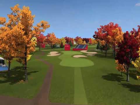 Hazeltine Ryder Cup - Hole 4