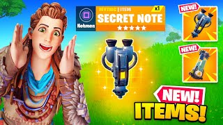 *NEW* MYTHIC items FOUND in Fortnite! (Spire Quests COMPLETE)