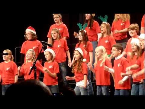 """Brookland middle school Christmas show. """"In the spirit"""""""