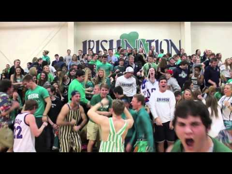 Peoria Notre Dame Student Section Video