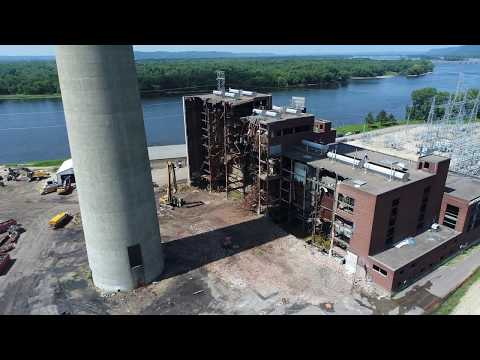 08 19 17 Dairyland Power Cooperative  Power Plant Demolition