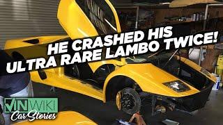 What's it like to crash your dream Lambo TWICE?