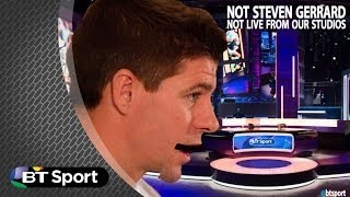 Steven Gerrard reacts to World Cup Draw: Darren Farley parody | #BTSport