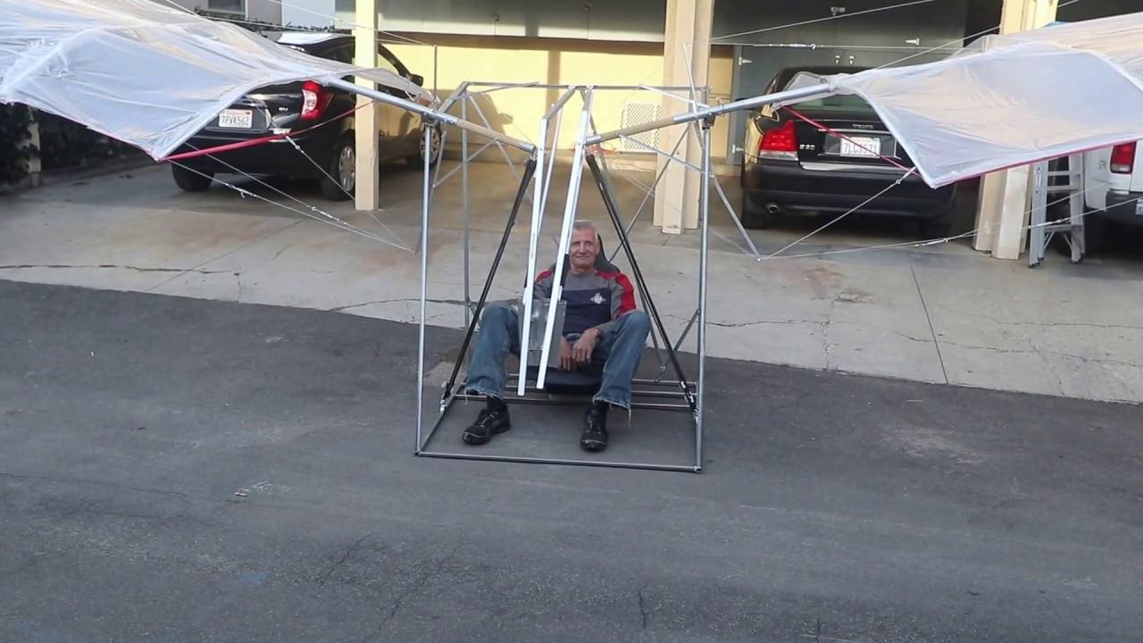 human powered flying machine