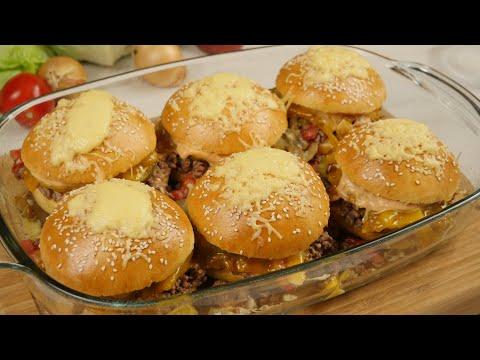 Rezept: Burger Auflauf Rezept / Cheeseburger Auflauf / Cheeseburger Casserole