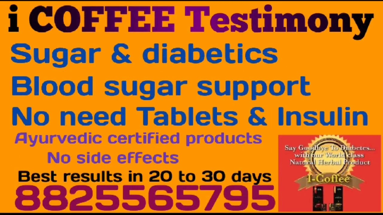 Indusviva Tamil | iCOFFEE for sugar and diabetics | No ...