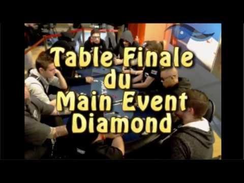 Table Finale Du Diamond Aréna Poker Camp Octobre 2015 (Lloret del Mar)