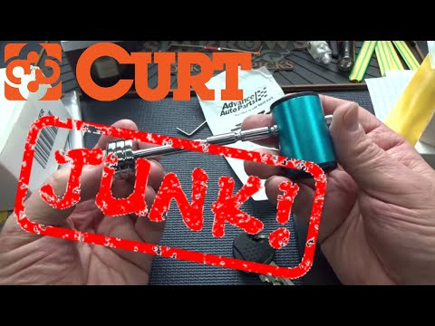 (1267) Review: Curt Trailer Hitch Lock 23503 Picked Open