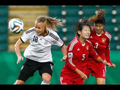 Germany v. China PR, Canada 2014 HIGHLIGHTS