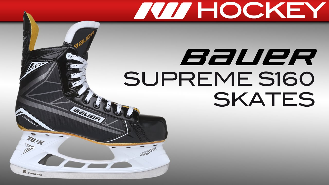 1ab3b618552 Bauer Supreme S160 Skate Review. Ice Warehouse