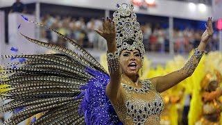 Всем веселиться! В Бразилии начался Карнавал!(В Бразилии стартовал традиционный карнавал. Крупнейшая страна Южной Америки будет гулять целую неделю...., 2016-02-06T11:06:59.000Z)