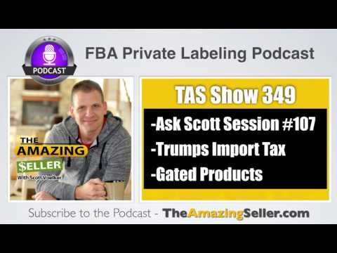 BUNDLES – TESTING PRODUCTS THAT ARE GATED – TRUMPS IMPORT TAX - TAS 349 - The Amazing Seller