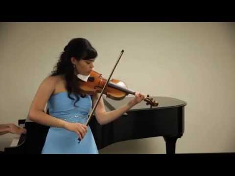 """Concert Fantasy on Russian Themes,"" Op. 33 - Annelle K. Gregory, violin"