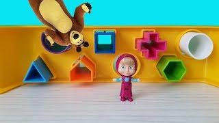 Küçük Maşanın Renkli Oyuncakları Maşha And Bear Eğlenceli Çocuk Videosu