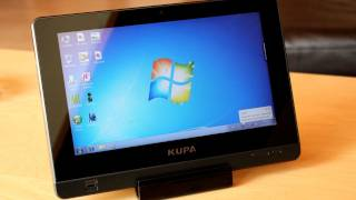 Kupa X11 - Win7 Tablet PC / Slate Test & Unboxing - Deutsch
