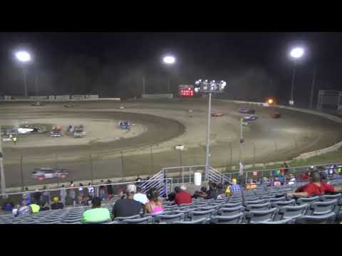 7-27-19 PLYMOUTH SPEEDWAY, PLYMOUTH, IN SUPER STREET - F. - dirt track racing video image