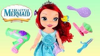 My First Disney Princess Easy Styles Ariel Little Mermaid Royal Reflection Eyes Flounder Hair Clip