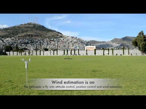 Wind Estimation and Rejection via Sliding Mode High-gain Observer