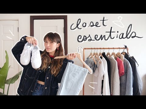 the ultimate guide to closet essentials