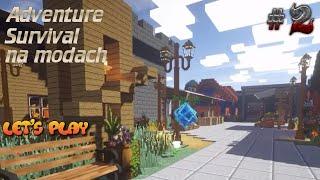 Adventure Survival na modach #2 - Miasto Adve