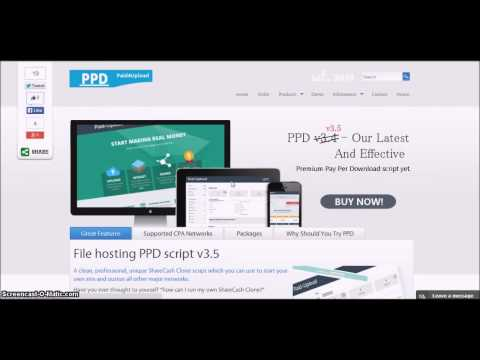 Best PPD Script : Admin Panel by Paid4Upload.Com
