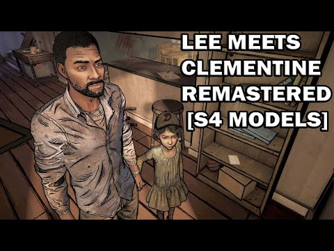 TWD - Lee Meets Clementine Remastered [S4 Models] |