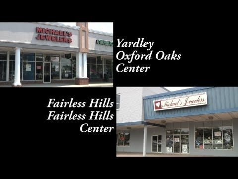 This is Michael's Jewelers in Yardley and Fairless Hills PA. Engagement rings and more!